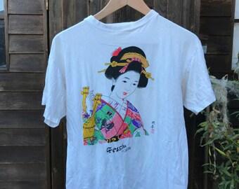 Vintage Geisha T-Shirt