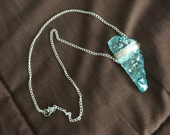 Boho Chic Crystal Necklace