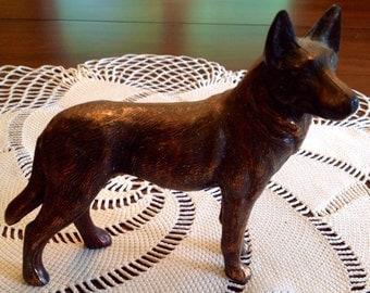 Metal German Shepherd Dog