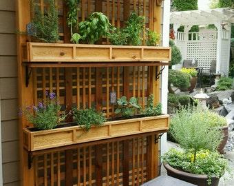 Garden Herb Rack