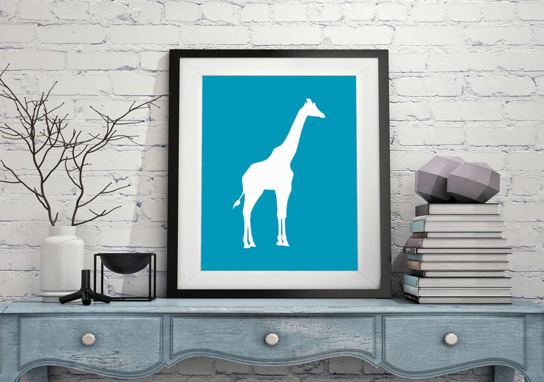 Giraffe silhouette print modern art minimalist art giraffe print giraffe silhouette print modern art minimalist art giraffe print black white art silhouette print wall art africa silhouette art minimal art amipublicfo Gallery