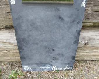 Chalkboard Painted Clipboard