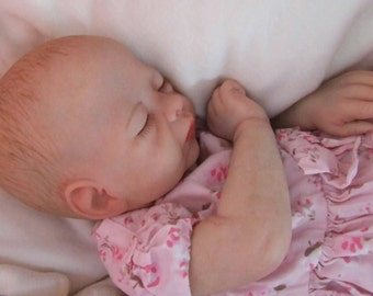 Made to order Reborn Molly doll newborn baby girl