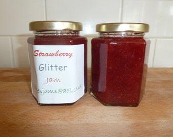 Glittery Jam (Strawberry jam/Raspberry Jam)