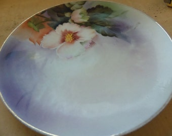 Antique Noritake Hand Painted Plate