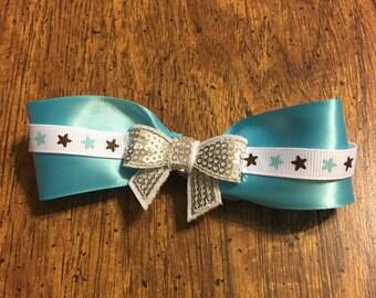 Blue star sparkle