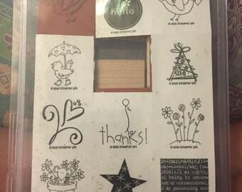 Hello Stamp Set