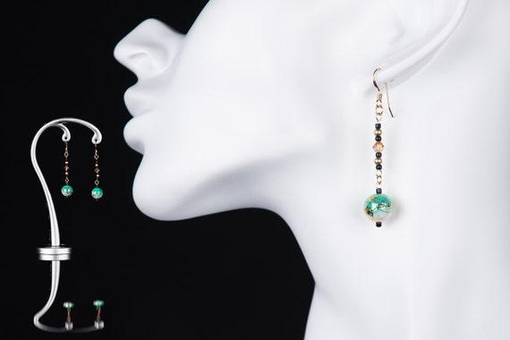 14k gold filled Japanese style earrings