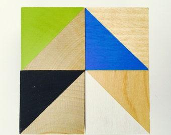 Modern Wood Blocks (Set of 4)