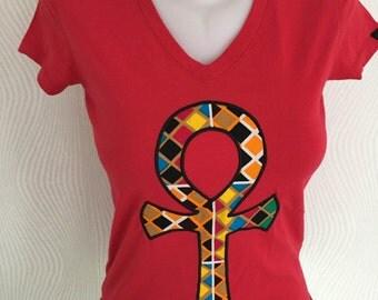 Anhk t-shirt Ladies,Dames,Vrouwen
