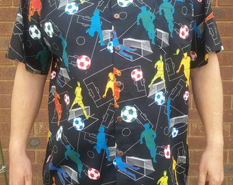 6XL football casual shirt