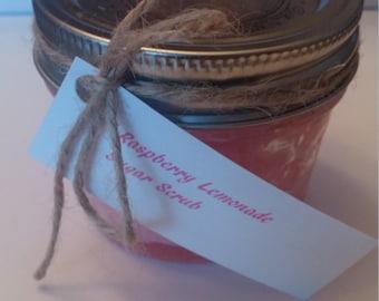 Raspberry Lemonade Sugar Scrub (4 oz.)