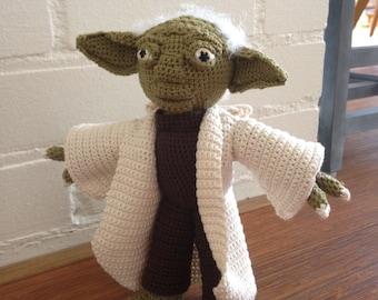 crochet Yoda of Star Wars