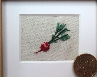 Embroidered Radish