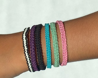 Adjustable Cord Bracelets