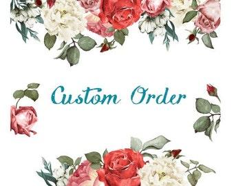 Custom your order for Turner