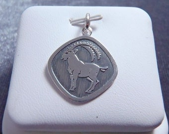 Sterling Silver Aries Pendant RP35