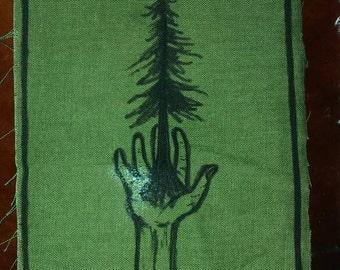 Palm Tree Ironic Patch