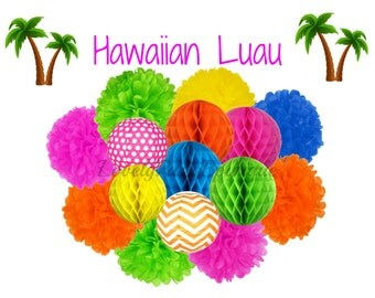 Hawaiian Luau Party Hanging Decoration