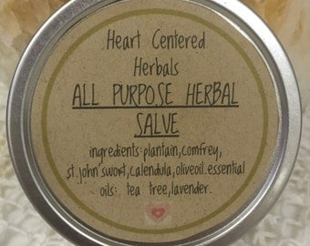 All Purpose Herbal Salve 2oz