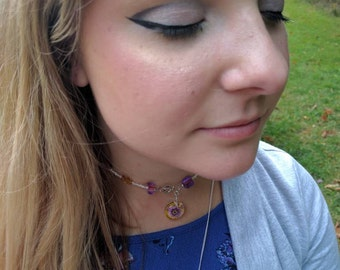 Purple Preserves Choker