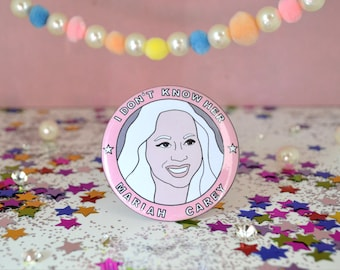 Mariah Carey - 58mm - Badge