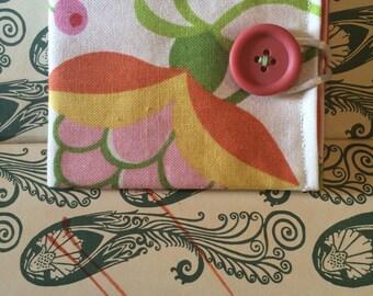 Floral Cotton Wallet