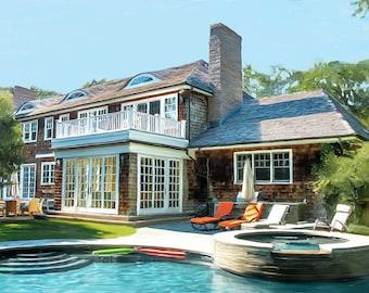 Amagansett, New York Shingle Style Home