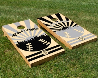 Chicago White Sox Cornhole Board Set