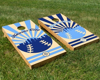 Kansas City Royals Cornhole Board Set