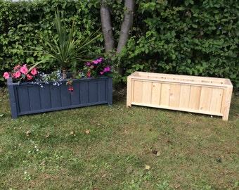 Large Planter, garden planter, outdoor planter, wooden planter (Free Shipping)