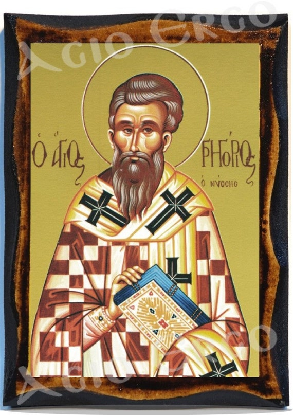 gregory of nyssa Gregory of nyssa (latin:gregorius nyssenus, greek: άγιος γρηγόριος νύσσης) (ca 335–ca 394 ce) was a christian bishop and sainthe was a younger brother of basil the great, and a good.