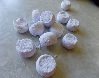 Lavender/chamomile bath bombs set of three