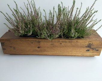 Reclaimed Wooden Planter