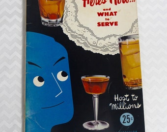 Here's How....and What To Serve - Host to Millions. 1950s booklet