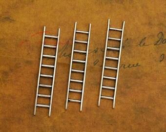 20PCS--51x10mm Ladder charms, Antique Tibetan Silver Ladder tool charm Pendants, DIY Findings, Jewelry Making