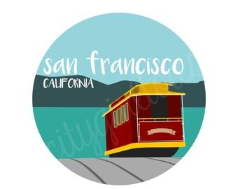 San Francisco City Tote