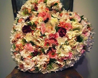 Artifical Flower Heart Wreath For Ceremony/Reception