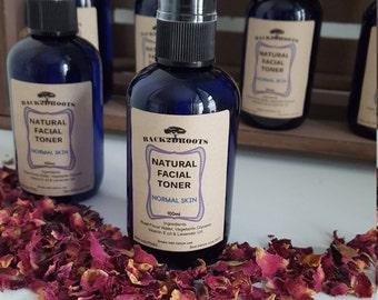 Natural Organic Rose facial toner