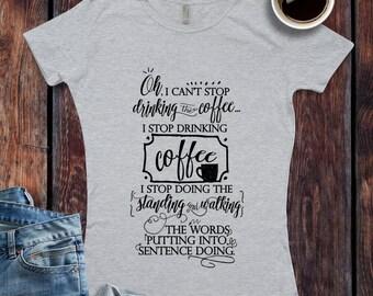 Coffee Shirt   Etsy