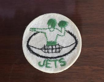 """Vintage New York Jets patch 2"""""""