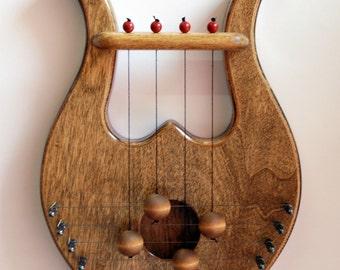 King davids lyre harp biblical door harp rosewood shade door harp king david door harp unique christmas and hanukkah gift wedding gift publicscrutiny Images