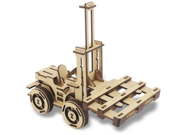 Forklift and Pallet