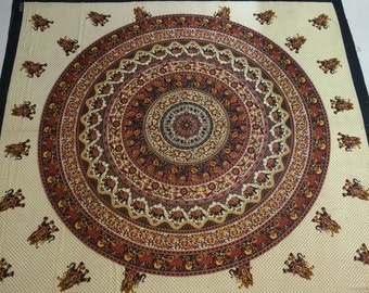 Famous Rajasthani Printed Bedsheetwith  pillow