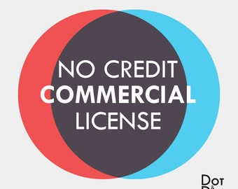 No Credit Limited Commercial License.