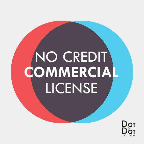 No Credit Limited Commercial License