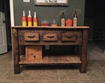 Items Similar To Buffet With Wine Rack And Storage For