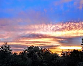 Hoosier Sunset #1