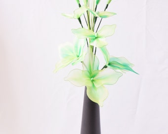 Contemporary artifical flower, Green flower, Nylon flower, Bouquet, Bridal bouquet, Home decor,Centre piece, Table decor, Flower arrangement