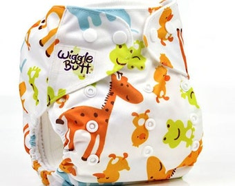 High quality affortable one size reusable cloth pocket diaper